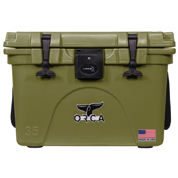 Orca Liddup light up cooler