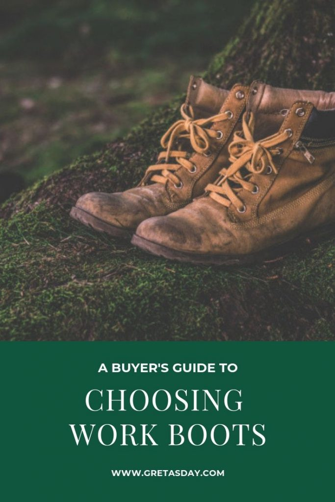 A buyer's guide to choosing work boots.