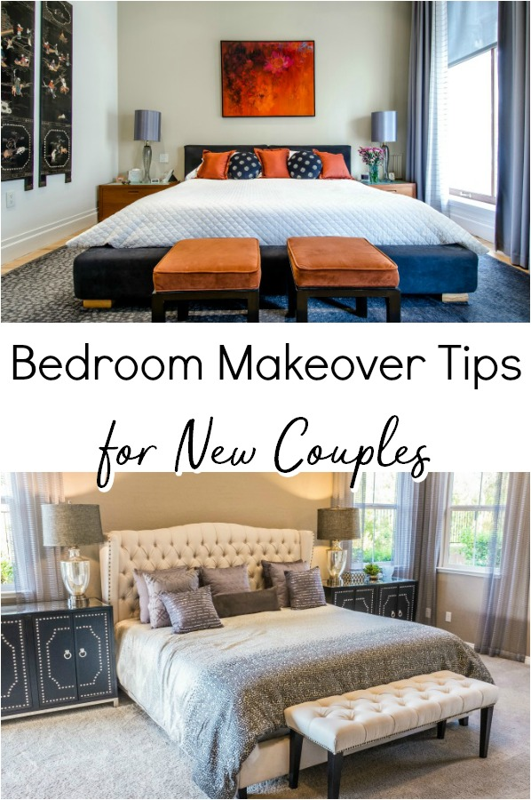 Moving in together is a hige step. Read these bedroom makeover tips for new couples before taking the plunge or buying new furniture.