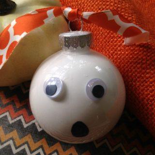 DIY Ghost Ornament Tutorial
