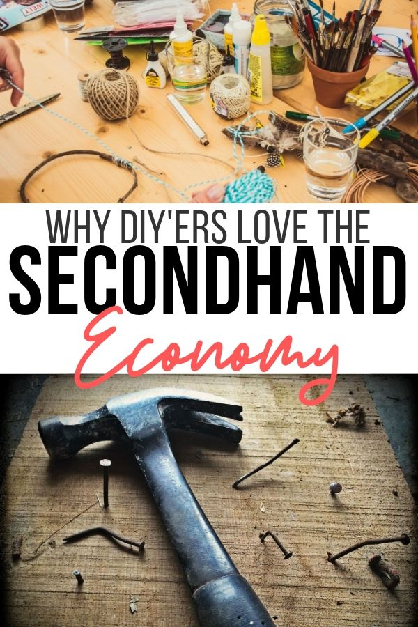 Why DIYers love the Secondhand economy. From flipping items to finding vintage and upcycling, there's money to be made