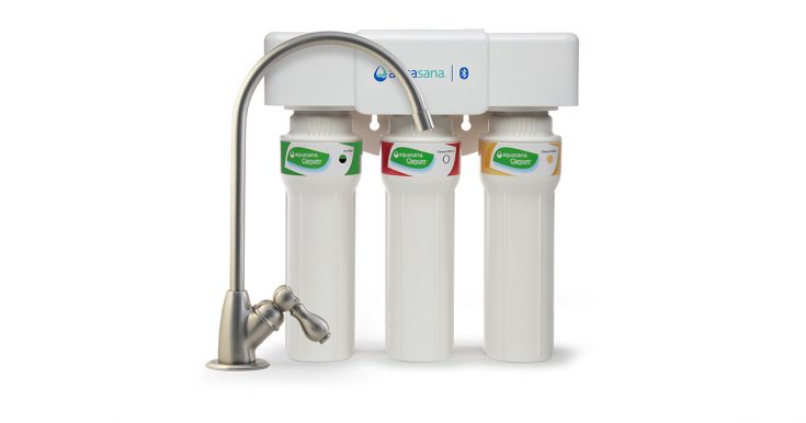 Aquasana 3-Stage Under Counter Water Filter