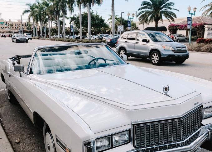 Vintage classic Cadillac