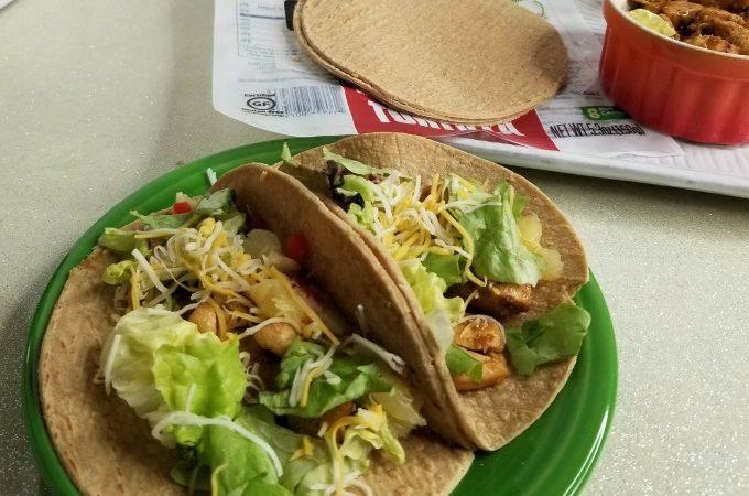Chicken Teriyaki Tacos Recipe