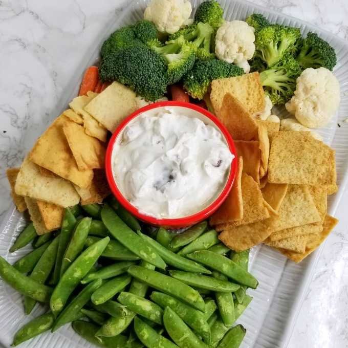 Mediterranean Dip recipe sq