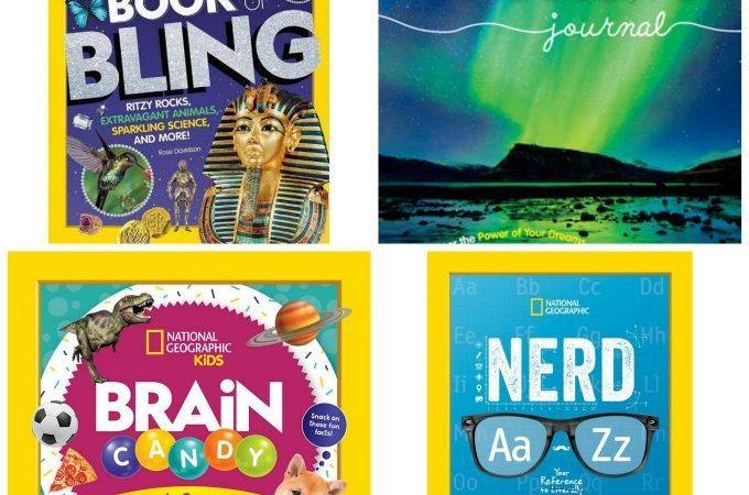 Win these National Geographic Kids books
