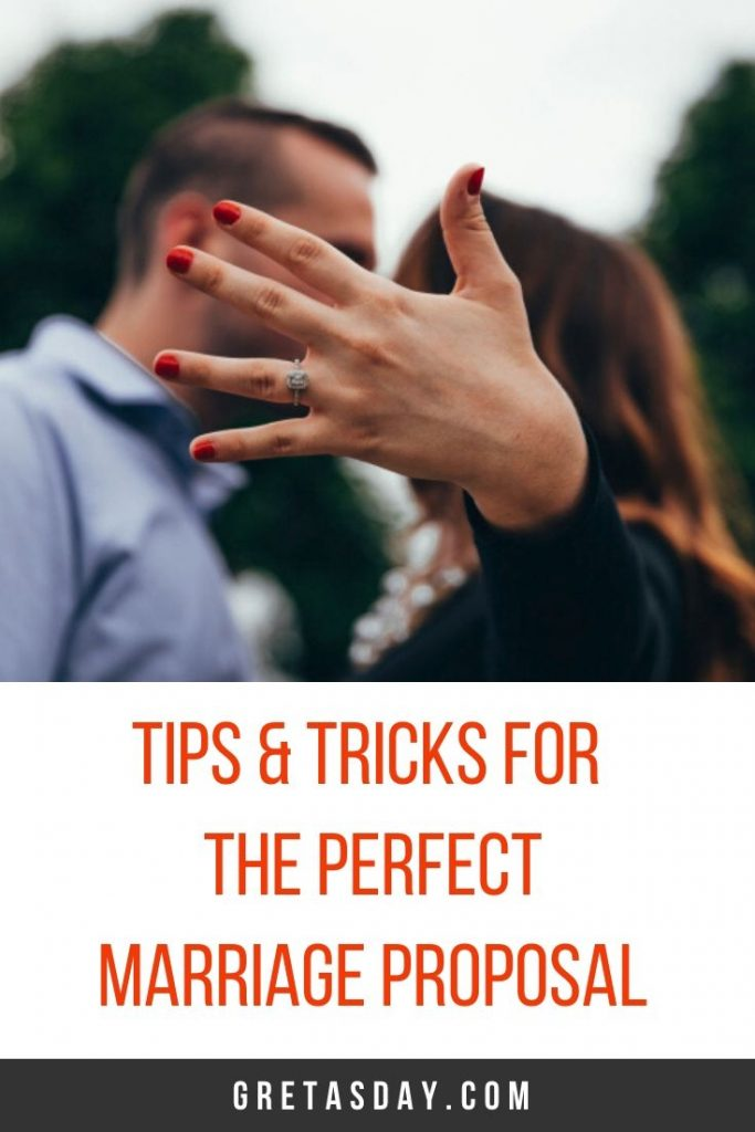 Tips and tricks to creating the perfect marriage proposal