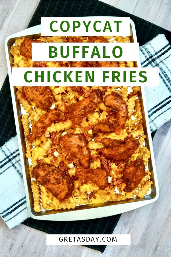 Quick and Easy Buffalo Chicken Fries
