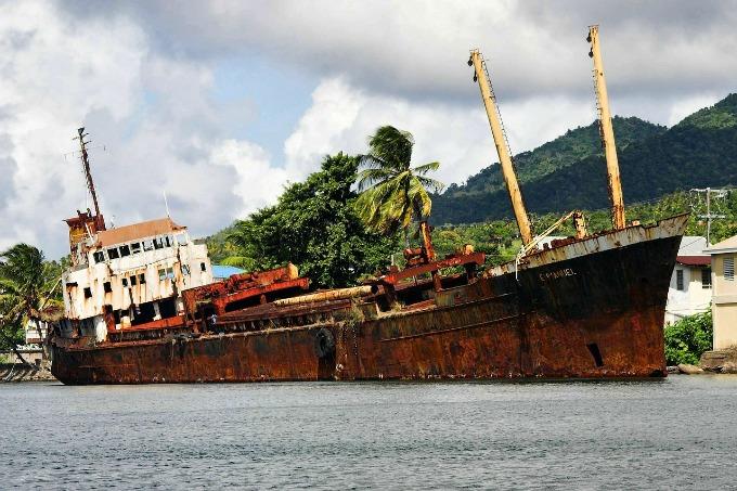 dominica shipwreck