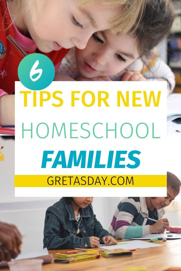 tips for new homeschool families