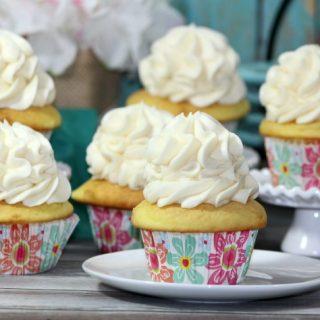Elegant champagne cupcakes recipe