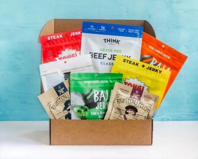 Craft Jerky Subscription Box