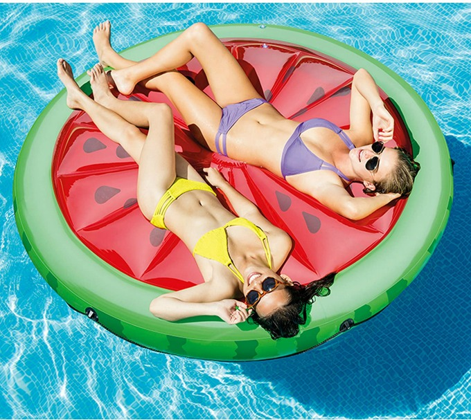 Watermelon island giant pool float for adults