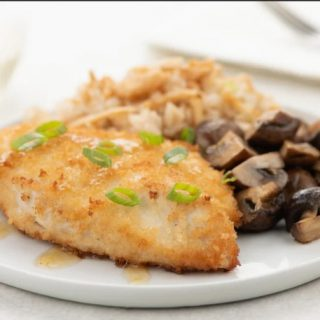 Home Chef Cinger Chicken Katsu