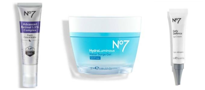 An easy skincare routine with No7