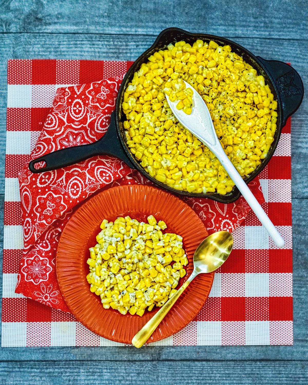 Cast Iron Creamed Corn recipe