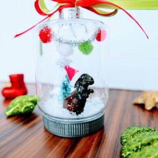 Dinosaur Christmas Ornament tutorial