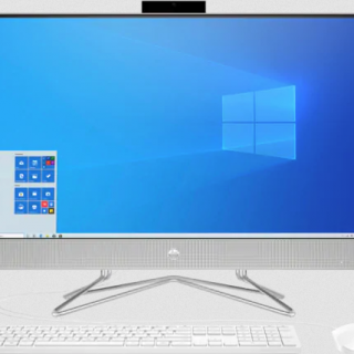 HP all in one desktop computer