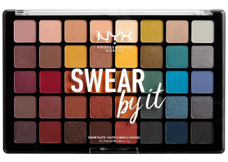 NYX Swear By It eyeshadow palette