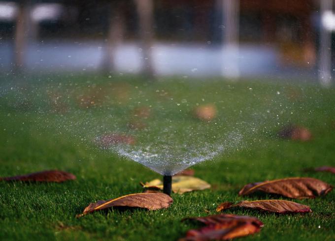 Benefits of a sprinkler system